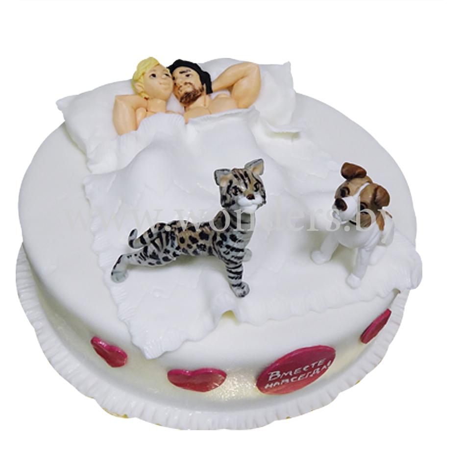 3 D торт Трактор. Как сделать 3D торт для мальчика.