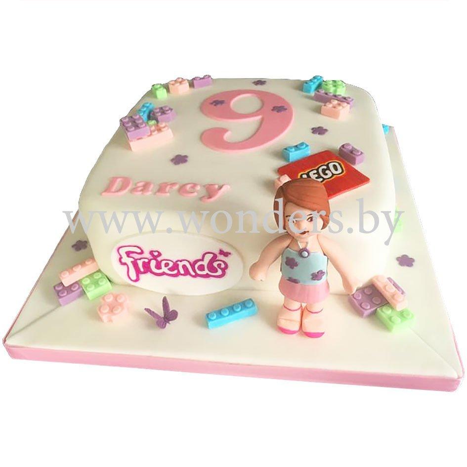 eb39ff1aa Торт Лего для девочки на заказ в Минске